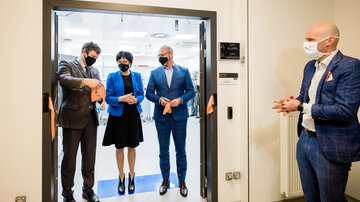 Inauguration of a new ELIBIO laboratory